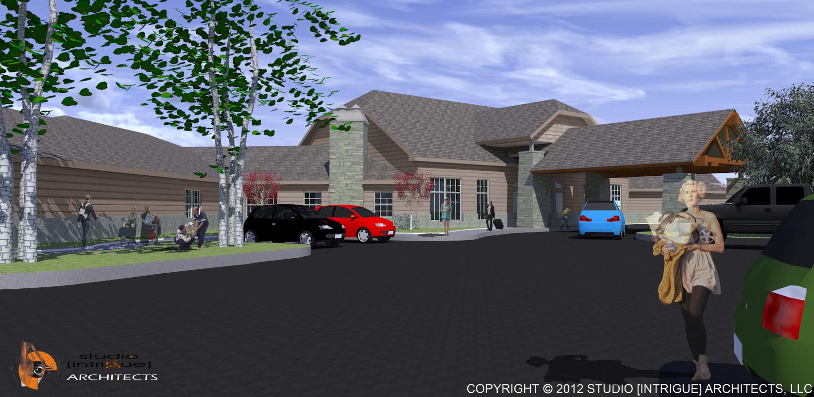 South Lyon Rendering: Front