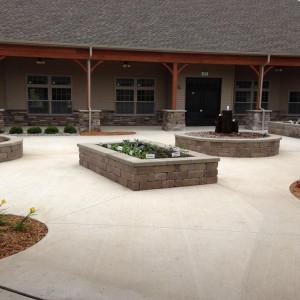 Memory Care Courtyard