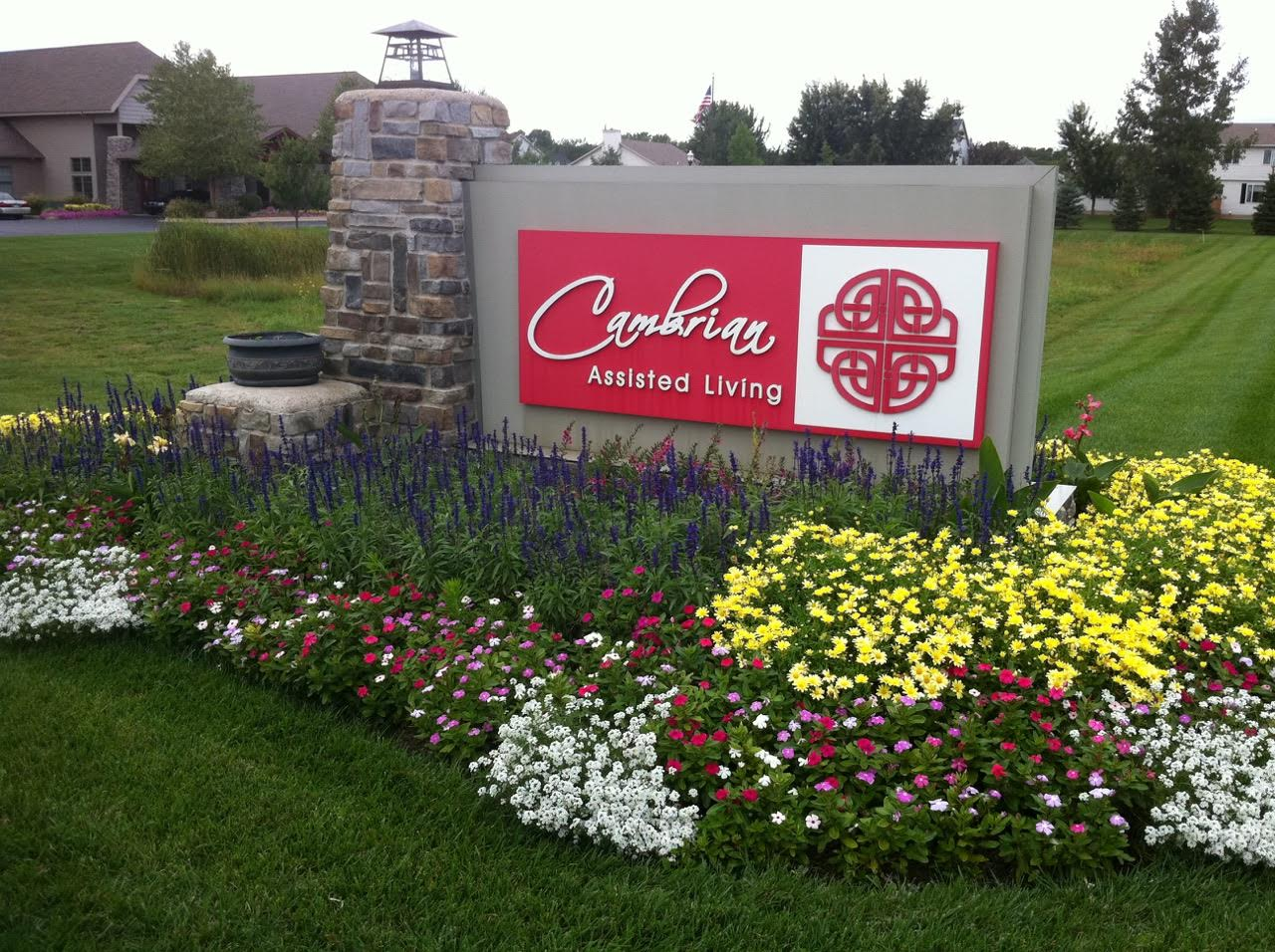 front sign 2 cambrian senior living