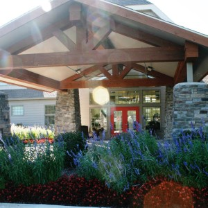 tecumseh assisted living building