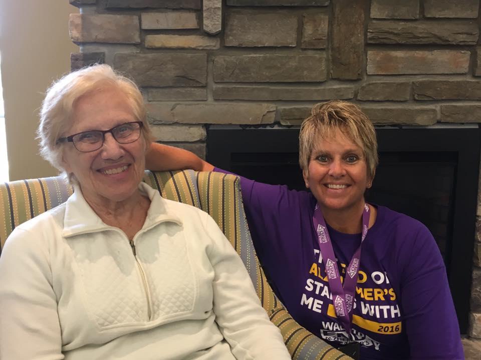 Alzheimer's Walk Mother Daughter